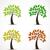 geïsoleerd · voorjaar · tijd · boom · illustratie · houten - stockfoto © odina222
