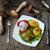 свинина · стейк · картофеля · гриб · соус - Сток-фото © oei1