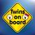 twins on board sticker stock photo © ojal