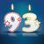 歳の誕生日 · キャンドル · 番号 · 25 · 難 · eps - ストックフォト © ojal