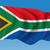 África · do · Sul · bandeira · isolado · branco · fundo · assinar - foto stock © ojal
