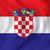 クロアチア · 政治的 · 地図 · ザグレブ · 重要 - ストックフォト © ojal