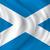 Шотландии · флаг · изолированный · белый · синий · стране - Сток-фото © ojal