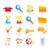 16 · icônes · web · ordinateur · signe · réseau · mail - photo stock © ojal