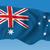 Avustralya · bayrak · harita · siluet · örnek · yeni · güney · galler - stok fotoğraf © ojal