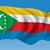 afrikai · földrész · zászló · térkép · Afrika · 50 - stock fotó © ojal