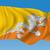 bandeira · Butão · isolado · branco · mundo · terra - foto stock © ojal