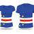 bandera · dibujado · a · mano · ilustración · signo · África · isla - foto stock © ojal