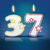 aniversário · vela · número · chama · eps · 10 - foto stock © ojal
