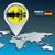 map pin with munich skyline stock photo © ojal