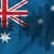 Австралия · флаг · карта · силуэта · иллюстрация · Новый · Южный · Уэльс - Сток-фото © ojal