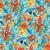 retro · bloempatroon · trillend · kleuren · voorjaar - stockfoto © oksanika