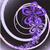 absztrakt · fekete · lila · virágmintás · örvény · számítógép - stock fotó © Oksvik