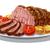 sült · illusztráció · vacsora · steak · ebéd · krumpli - stock fotó © olegtoka