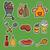 барбекю · пикника · набор · мяса · гриль - Сток-фото © olegtoka