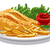 курица-гриль · груди · иллюстрация · фри · томатном · соусе · продовольствие - Сток-фото © olegtoka