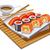 sushi · pirinç · soya · sosu · akşam · yemeği · yemek · yemek - stok fotoğraf © olegtoka