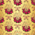 vintage golden floral seamless pattern stock photo © olgadrozd