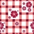 red white floral seamless pattern stock photo © olgadrozd