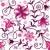 ismétlés · virágmintás · minta · végtelenített · fehér · barna - stock fotó © olgadrozd