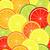 seamless citrus pattern stock photo © olgadrozd