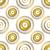 vetor · sem · costura · floral · dourado · padrão · sujo - foto stock © olgadrozd