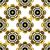 ouro · sem · costura · abstrato · floral · padrão · vintage - foto stock © olgadrozd