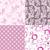 szett · végtelenített · minták · puha · textúra · divat · absztrakt - stock fotó © olgadrozd