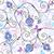 vektor · végtelen · minta · pillangók · virágok · konzerv · használt - stock fotó © olgadrozd
