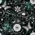 verde · modello · di · fiore · buio · texture · sfondo · tessuto - foto d'archivio © olgadrozd