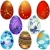 Paskalya · altın · dalga · yumurta - stok fotoğraf © olgadrozd
