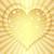 golden valentine frame stock photo © olgadrozd