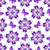 seamless pattern with violet vintage flowers stock photo © olgadrozd