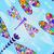 mavi · gri · çiçek · vektör · bahar · duvar - stok fotoğraf © olgadrozd