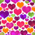 Vivid motley seamless valentine pattern stock photo © OlgaDrozd