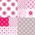 10 seamless pattern with snowflakes stock photo © olgadrozd