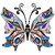 decorative fantasy butterfly stock photo © olgadrozd