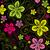 sem · costura · escuro · roxo · padrão · borboletas - foto stock © olgadrozd