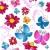 floral seamless white pattern stock photo © olgadrozd
