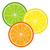 citrus · szeletek · vektor · különböző · színek · étel - stock fotó © olgadrozd