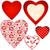 grens · harten · bloemen · helling · liefde - stockfoto © olgadrozd