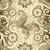 naadloos · stippel · gouden · abstract · retro · behang - stockfoto © olgadrozd