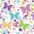 abstrato · floral · padrão · flores · borboleta - foto stock © olgadrozd
