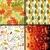 set floral seamless patterns stock photo © olgadrozd