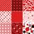 szett · végtelenített · kockás · vektor · minta · textúra - stock fotó © olgadrozd