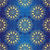 seamless dark blue vintage pattern stock photo © olgadrozd