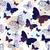 フライ · 昆虫 · シームレス · テクスチャ · 壁紙 · 抽象的な - ストックフォト © olgadrozd