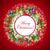 Noël · couronne · bleu · arbre · rouge · star - photo stock © olgayakovenko