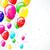 balon · parti · balonlar · dekorasyon · doğum · günü · turuncu - stok fotoğraf © olgayakovenko