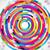 abstract · technologie · cirkels · ontwerp · Blauw · retro - stockfoto © olgayakovenko